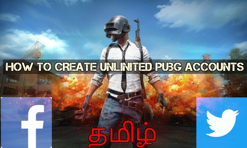 How To Create Unlimited Facebook Twitter Accounts Pubg T Developers